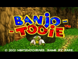 Banjo-Tooie (Europe) (En,Fr,De,Es) Title Screen