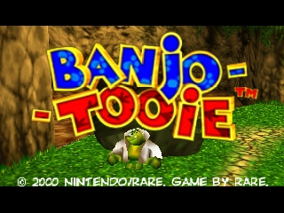Banjo-Tooie (USA) Title Screen