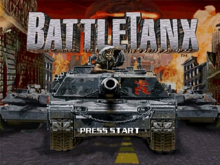 BattleTanx (USA) Title Screen