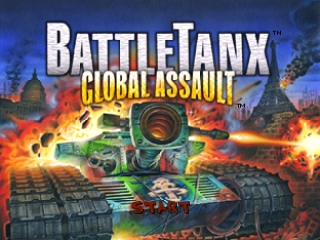 BattleTanx - Global Assault (Europe) (En,Fr,De) Title Screen