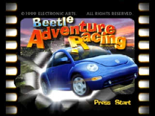 Beetle Adventure Racing! (USA) (En,Fr,De) Title Screen