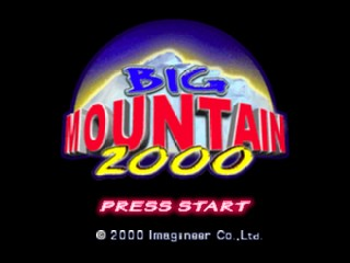 Big Mountain 2000 (USA) Title Screen