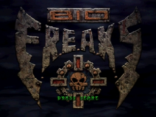 Bio F.R.E.A.K.S. (Europe) Title Screen