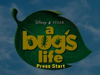 Bug's Life, A (Europe) Title Screen