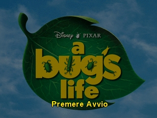 Bug's Life, A (Italy) Title Screen
