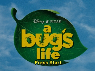 Bug's Life, A (USA) Title Screen