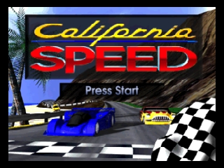 California Speed (USA) Title Screen