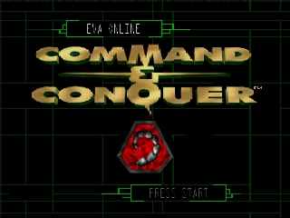Command & Conquer (USA) Title Screen