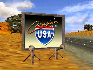 Cruis'n USA (Europe) Title Screen