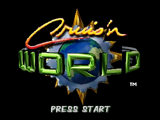 Cruis'n World (USA) Title Screen