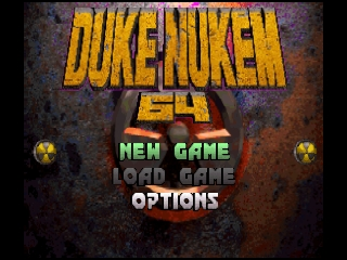 Duke Nukem 64 (Europe) Title Screen