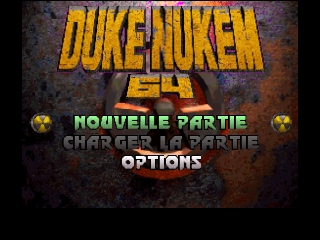 Duke Nukem 64 (France) Title Screen