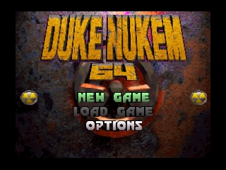 Duke Nukem 64 (USA) Title Screen