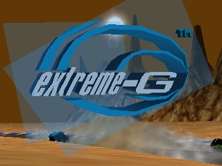 Extreme-G (Japan) Title Screen