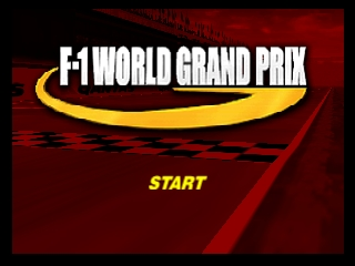 F-1 World Grand Prix (France) Title Screen