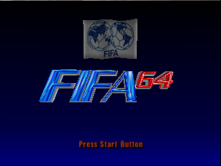 FIFA Soccer 64 (Europe) (En,Fr,De) Title Screen