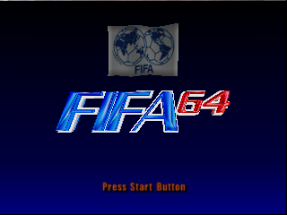 FIFA Soccer 64 (USA) (En,Fr,De) Title Screen