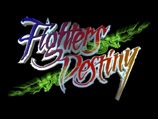 Fighters Destiny (Europe) Title Screen