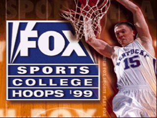 Fox Sports College Hoops '99 (USA) Title Screen