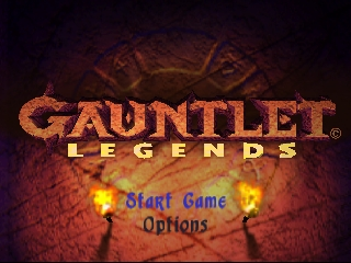 Gauntlet Legends (USA) Title Screen