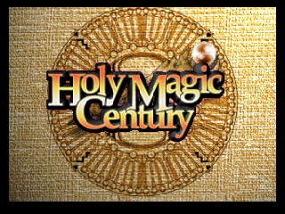 Holy Magic Century (France) Title Screen