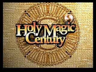 Holy Magic Century (Germany) Title Screen