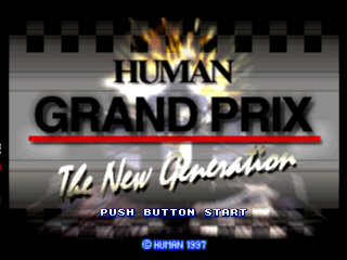 Human Grand Prix - The New Generation (Japan) Title Screen