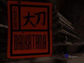 John Romero's Daikatana (Europe) (En,Fr,De) Title Screen