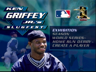 Ken Griffey Jr.'s Slugfest (USA) Title Screen