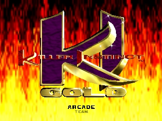 Killer Instinct Gold (Europe) Title Screen