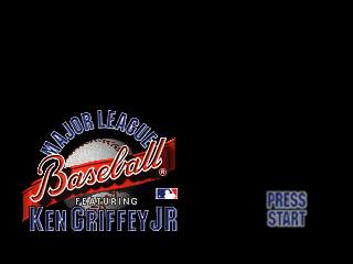 6b32c9af3e Major League Baseball featuring Ken Griffey Jr. (USA) ROM < N64 ROMs ...