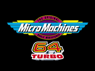 Micro Machines 64 Turbo (Europe) (En,Fr,De,Es,It) Title Screen