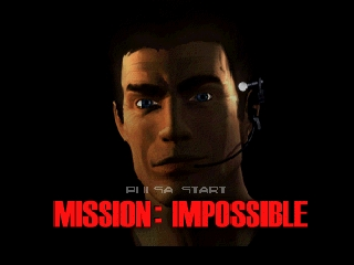 Mission Impossible (Spain) Title Screen