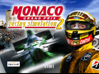 Monaco Grand Prix - Racing Simulation 2 (Europe) (En,Fr,Es,It) Title Screen