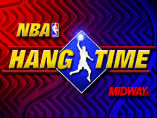 NBA Hangtime (Europe) Title Screen