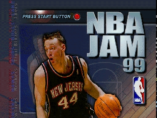 NBA Jam 99 (USA) Title Screen