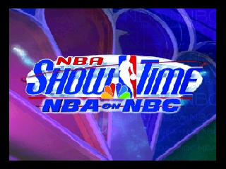 NBA Showtime - NBA on NBC (USA) Title Screen