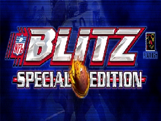 NFL Blitz - Special Edition (USA) Title Screen