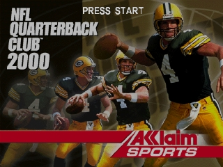 NFL Quarterback Club 2000 (Europe) Title Screen