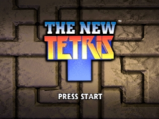 New Tetris, The (Europe) Title Screen