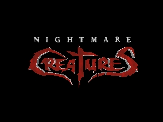 Nightmare Creatures (USA) Title Screen
