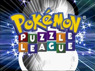Pokemon Puzzle League (France) Title Screen