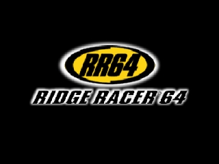 RR64 - Ridge Racer 64 (USA) Title Screen