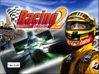 Racing Simulation 2 (Germany) Title Screen