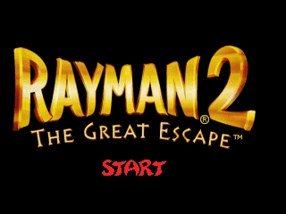 Rayman 2 - The Great Escape (USA) (En,Fr,De,Es,It) Title Screen