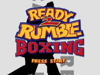 Ready 2 Rumble Boxing (Europe) (En,Fr,De) Title Screen