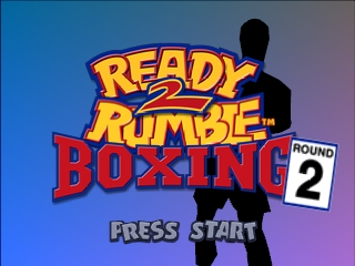 Ready 2 Rumble Boxing - Round 2 (USA) Title Screen