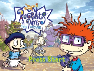 Rugrats in Paris - The Movie (Europe) Title Screen