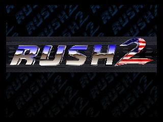 Rush 2 - Extreme Racing USA (USA) Title Screen