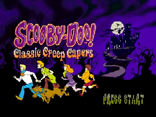 Scooby-Doo! - Classic Creep Capers (USA) Title Screen